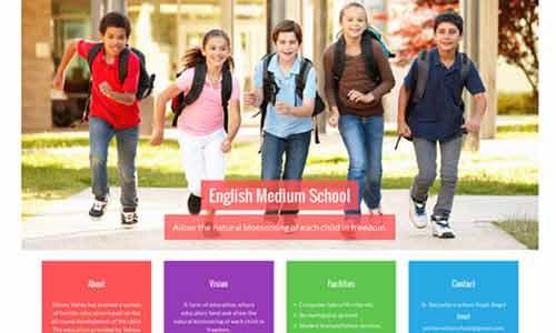 educational website development company india
